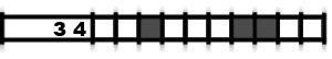 Règles du jeu du hanjie picross, exemple 6